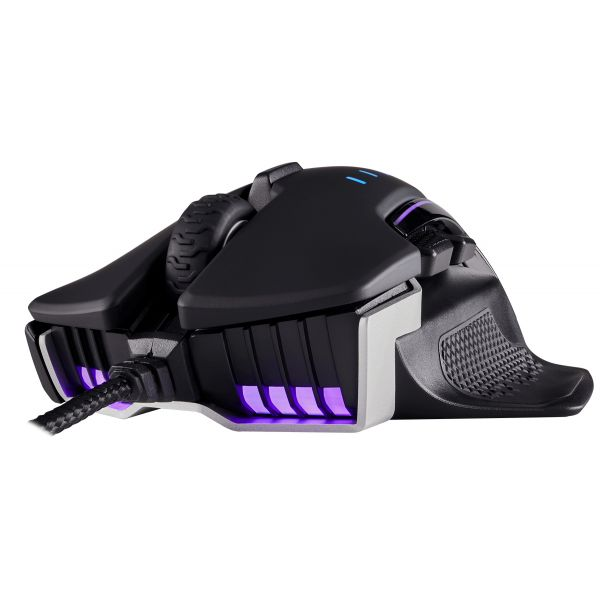 MOUSE CORSAIR GAMING GLAIVE RGB 16000 DPI BLACK CH-9302011-NA