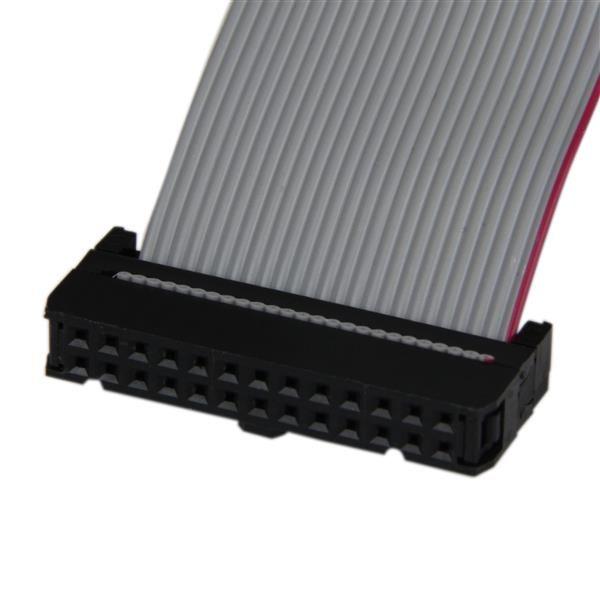 Adaptador Bracket Paralelo  40cm DB25 a IDC26 STARTECH PLATE25F16LP