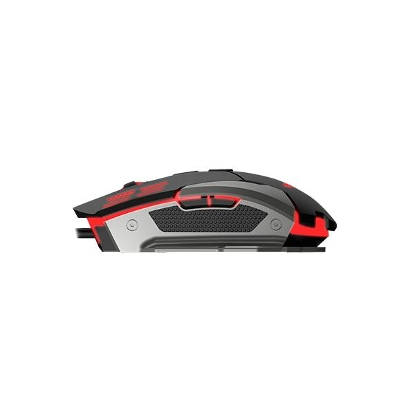 MOUSE GAMING NACEB TECHNOLOGY NA-630 USB NEGRO/ROJO