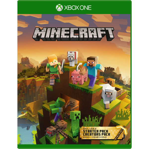 VIDEOJUEGO XBOX ONE MINECRAFT MASTER COLLECTION