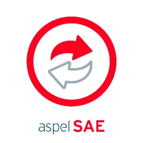 SOFTWARE ADMIN ASPEL SAE 1USR LICENCIA ANUAL 1USUARIO 99 EMP. (SAE12M)