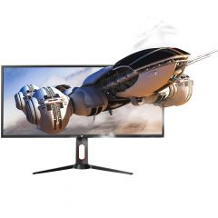 """MONITOR GAMER GAME FACTOR MG800 34"""" ULTRA WIDE QHD 100HZ 1MS DP HDMI"""