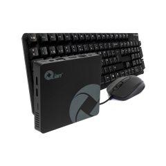 MINI PC QIAN CELERON 4GB RAM SSD 64+120GB WIN 10 PRO/ TECLADO Y MOUSE