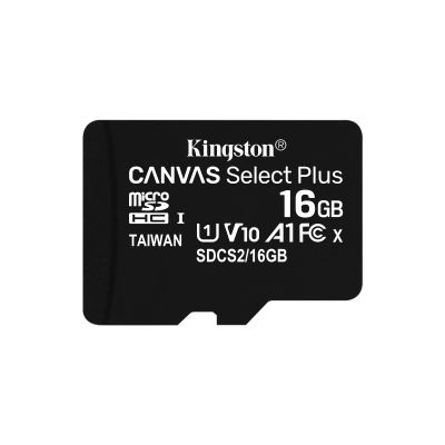 MEMORIA MICRO SDHC 100R A1 CL10 KINGSTON 16 GB (SDCS2/16GB)