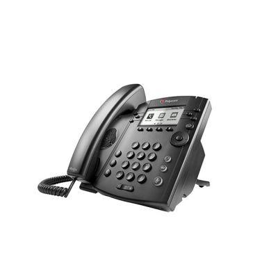 TELEFONO POLYCOM VVX 311 LCD 6 LINEAS NEGRO