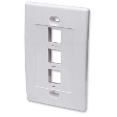 PLACA DE PARED INTELLINET 3 COLOR BLANCO
