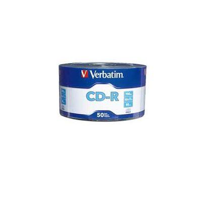 CD-R VERBATIM 52X 700MB 80MIN 50 PZAS GRABABLE 97488