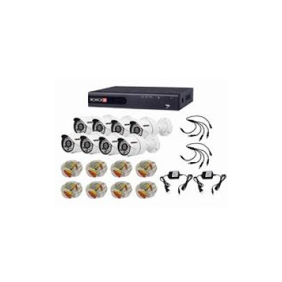 KIT VIGILANCIA PROVISION DVR 8CAN+8 CAMBALA SA-8200AHD)CC(PRO88AHDKIT)