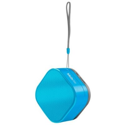 BOCINA ACTECK PORTATIL BLUETOOTH URBAN KAOS AZUL MB-916448