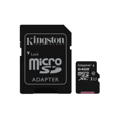MEMORIA SD KINGSTON CANVAS SELECT 64GB SDXC UHS-I CLASE10 SDCS/64GB