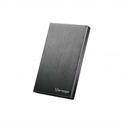 ENCLOSURE VORAGO HDD-201 NEGRO DD 2.5 SATA USB 3.0