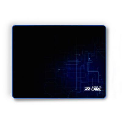 MOUSEPAD VORAGO START THE GAME MPG-200, MEDIANO, SPEED CONTROL, NEGRO
