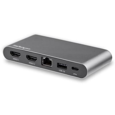 DOCKING STATION USB TIPO C DE VIDEO DOBLE HDMI WINDOWS PD