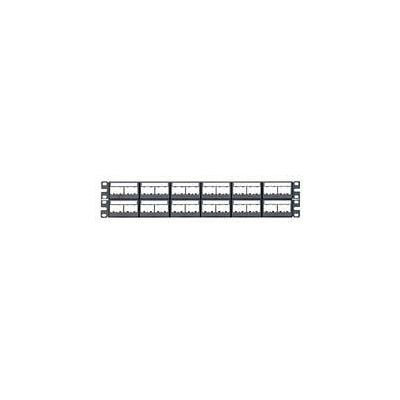 PANEL PARA RJ-45 PANDUIT cppl48wbly COLOR NEGRO PROTECTOR
