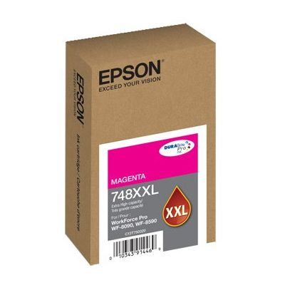 CARTUCHO EPSON 748 XXL MAGENTA T748XXL320