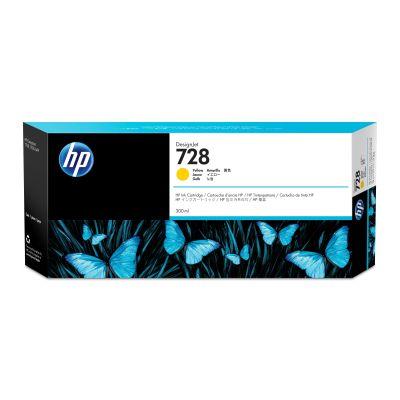 CARTUCHO HP 728 AMARILLO 300ML TINTA AMPLIO FORMATO F9K15A