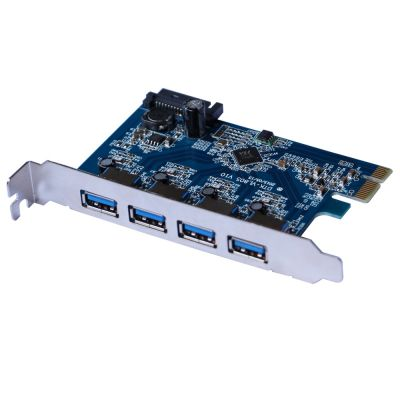 TARJETA PCI EXPRESS X-MEDIA XM-UB3204 4 PUERTO USB 3.0