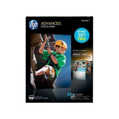 """PAPEL HP AVANZADO FOT BRILLANTE 50 HOJAS 85 X 11"""" (Q7853A) 8.5X11"""