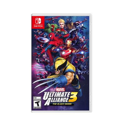 MARVEL ULTIMATE ALLIANCE 3 BLACK ORDER VIDEOJUEGO PARA CONSOLA SWITCH