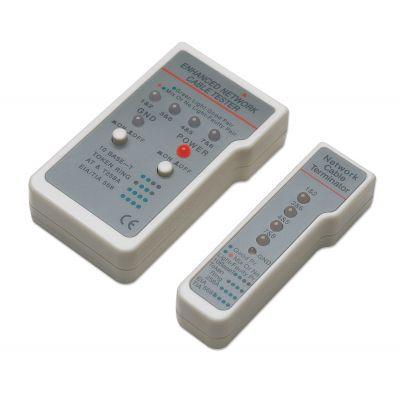 PROBADOR DE CABLES INTELLINET RJ-45/RJ-11 INDICADOR LED 351898