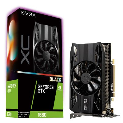 TARJETA DE VIDEO EVGA GEFORCE GTX 1660 XC BLACK GAMING 6GB GDDR5