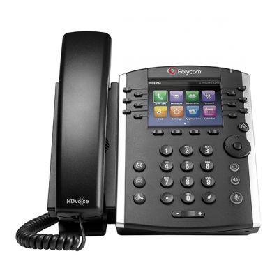 TELEFONO IP POLYCOM 12 LINEAS NEGRO 2200-48450-025