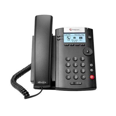 TELEFONO IP VVX POLYCOM LCD 2 LINEAS NEGRO 2200-40450-025
