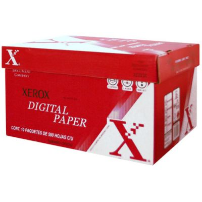 PAPEL ROJO OFICIO 003M02021 XEROX PAPEL BOND COLOR BLANCO 5000H