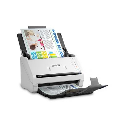 ESCANER WORKFORCE EPSON DS-530 600X600 DPI USB 35PPM ADF (B11B236201)
