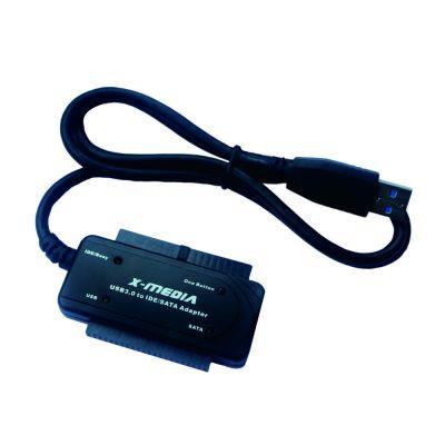ADAPTADOR X-MEDIA XM-UB3235S USB 3.0 A IDE/SATA CON AC/DC ADAPTADOR