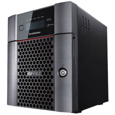 TERASTATION BUFFALO 5410 4-D VE 24 TB EN 4 BAHIAS DESKTOP NAS