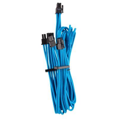 CABLE CORSAIR PCIE FUNDAS IND PSU PREM TIPO4 GEN4 AZUL CP-8920253