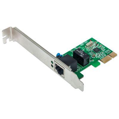 TARJETA DE RED GIGABIT ETHERNET PCIe INTELLINET 522533