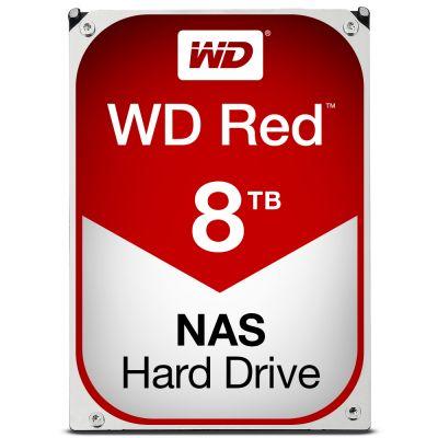 """DISCO DURO INTERNO 3.5"""" 8TB SATA 6GB 5400RPM 128MB NAS WD RED"""