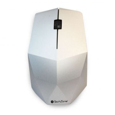 MOUSE INALAMBRICO TECHZONE TZ19MOU04-INA OPTICO1200DPI PLATA
