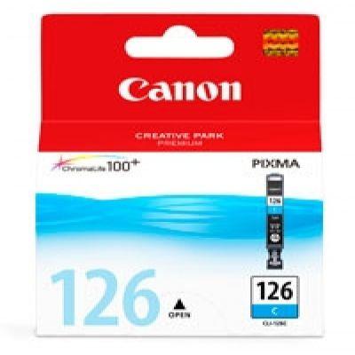 CARTUCHO DE TINTA CANON CLI-126 CYAN PARA IP4910 4562B001AA 15D.GTIA