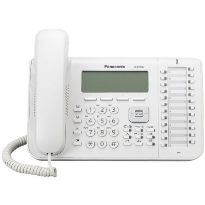 TELEFONO ANALOGO PANASONIC LCD DIGITAL EJECUTIVO KX-DT543X BLANCO