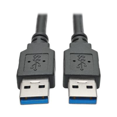 CABLE USB 3.0 SUPERSPEED A/A M/M NEGRO 0.91 M 3 PIES+