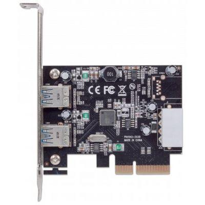 TARJETA USB MANHATTAN PCIe USB 3.1 2 PUERTOS 151795