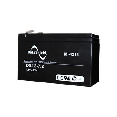 BATERIA PARA NO BREAK DATASHIELD 12V 3 AÑOS COLOR NEGRO