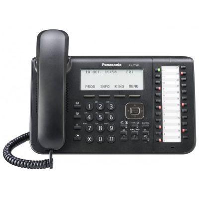 TELEFONO PANASONIC ESCRITORIO MULTILINEA 24 TECLAS PROG KX-DT546X-B NG