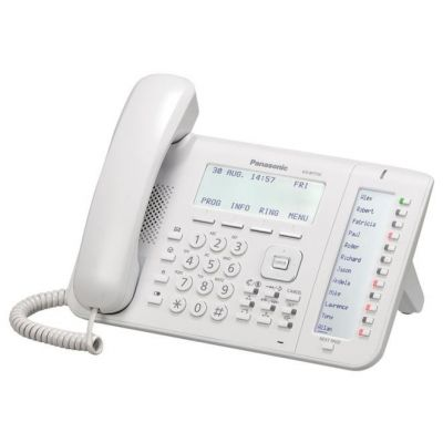 TELEFONO IP PANASONIC KX-NT556X ALAMBRICO ALTAVOZ BLANCO