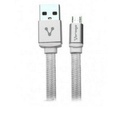 CABLE MICRO USB VORAGO CAB-113 BLANCO 1METRO BOLSA