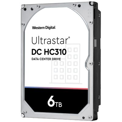 "DISCO DURO INTERNO WD ULTRASTAR 3.5"" 6TB SATA 6GB 7200RPM 256MB"