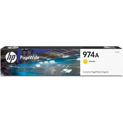 CARTUCHO ORIGINAL PARA PAGEWIDE HP 974A AMARILLO 3000 PAG (L0R93AL)