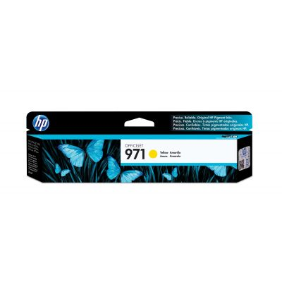 CARTUCHO HP 971 AMARILLO PARA OFFICEJET X451dw/X476dw (CN624AM)