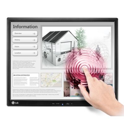 """MONITOR TOUCH LG 17MB15T-B 17"""" LCD 5ms (1280 X 1024) NEGRO"""