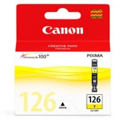 CARTUCHO TINTA CANON CLI-126 AMARILLO 9ML 200 PAGINAS