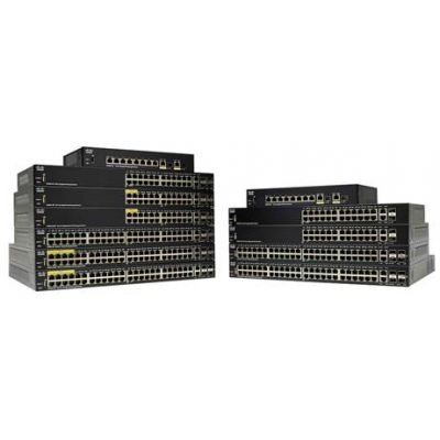 SWITCH CISCO SG250-10P-K9-NA 10-PORT GIGABIT POE 62W