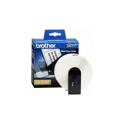 ETIQUETAS BROTHER DK1208 COLOR BLANCO 400